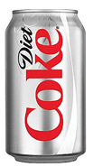 Canned Diet Coca Cola