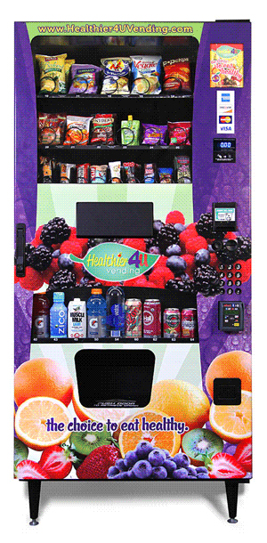 Healthy 4 You Snack Vending